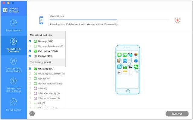 iMyFone D-Back 6.8 Crack With Registration Code Free Download