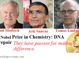 2015 Nobel Prize in Chemistry