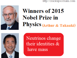 Winners of 2015 Nobel Prize