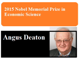 2015 Nobel Memorial Prize in Economic Science
