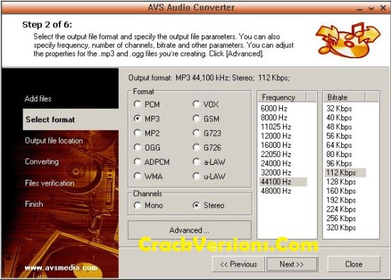 AVS Audio Converter Licenae Key