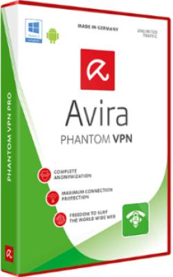 Avira Phantom VPN 2018 Crack