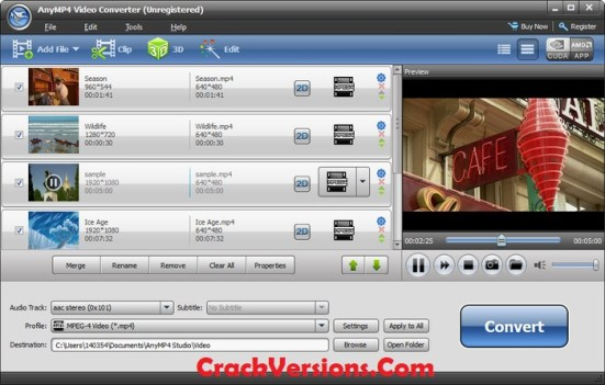 AnyMP4 Video Converter Ultimate Keygen