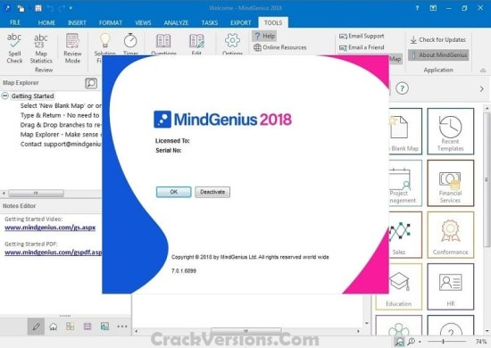 MindGenius Business 2018 Serial Key