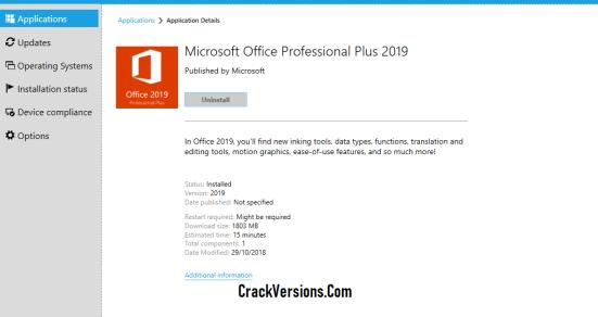 Microsoft Office Professional Plus 2019 Keygen