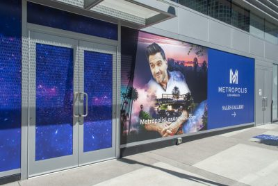 Whether it's a street level or up high, window graphics never fail to make an impact.