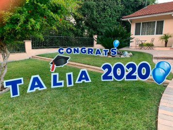 Congrats 2020 Yard Sign