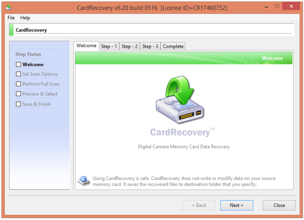 CardRecovery 6.20 Build 0516 Patch [2020] Free Download