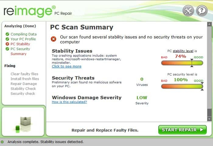 Reimage PC Repair License Key 2015 Crack Full Download