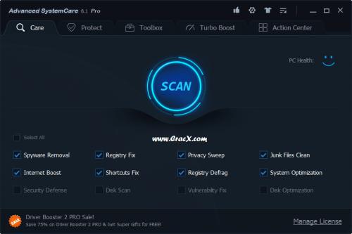 Advanced SystemCare Pro Serial Key + Keygen Full Download