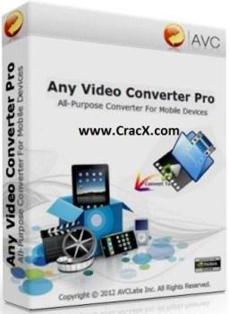 Any Video Converter Professional Crack + Keygen Full Free