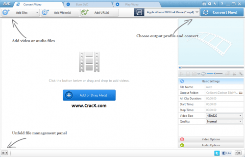Any Video Converter Professional Serial Key + Patch Download