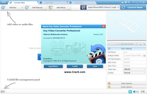 Any Video Converter Professional Serial Number Full Download
