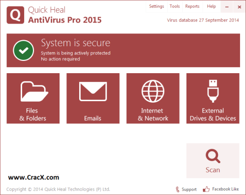 quick heal antivirus pro 2014 crack