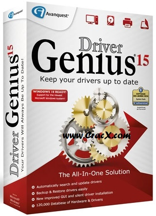 Driver Genius 15 License Code, Crack Keygen Full Download