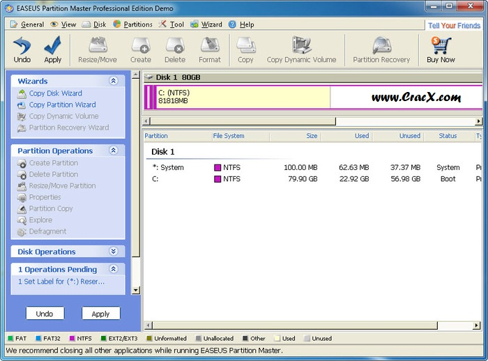easeus partition master professional edition full version