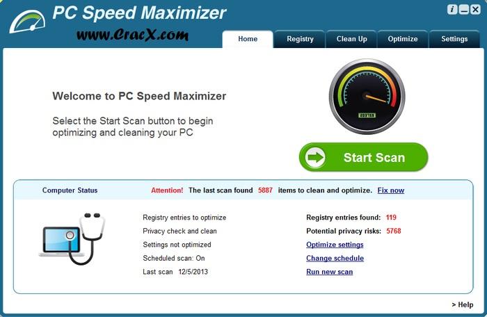 speed my pc serial key