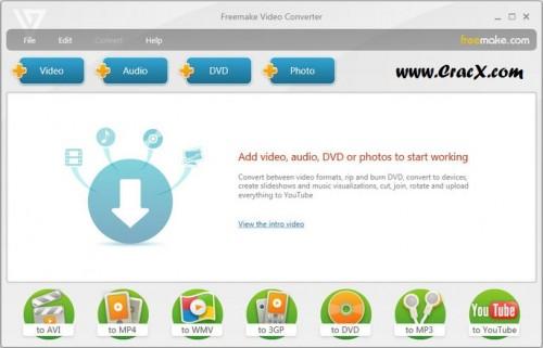 Freemake Video Converter Crack + Keygen Full Free Download