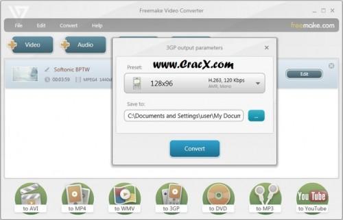 Freemake Video Converter Key 4.1.6.7 Crack Free Download