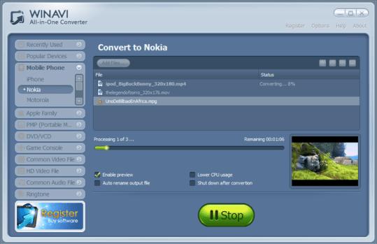 WinAVI All In One Converter Crack & Keygen Free Download