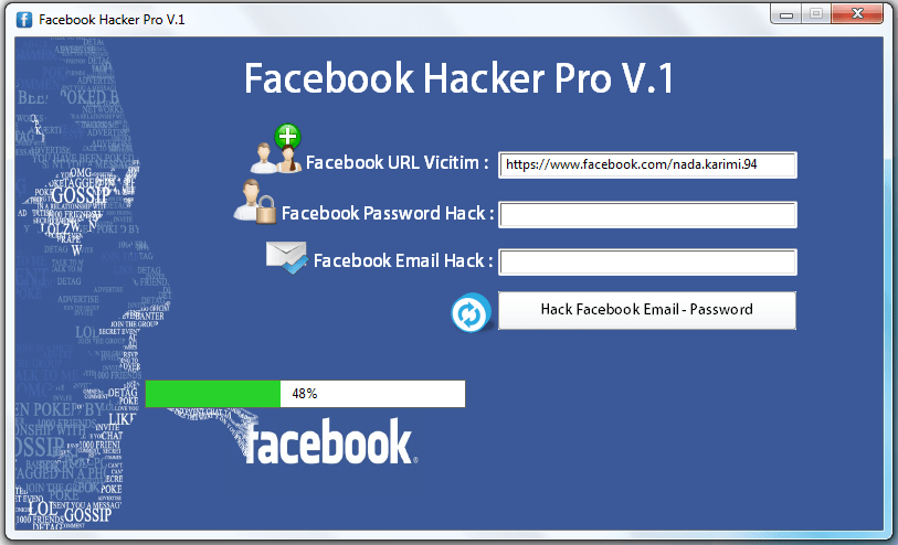 facebook hack password indir