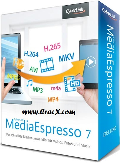 Cyberlink MediaEspresso 7 Crack, Serial Key Free Download