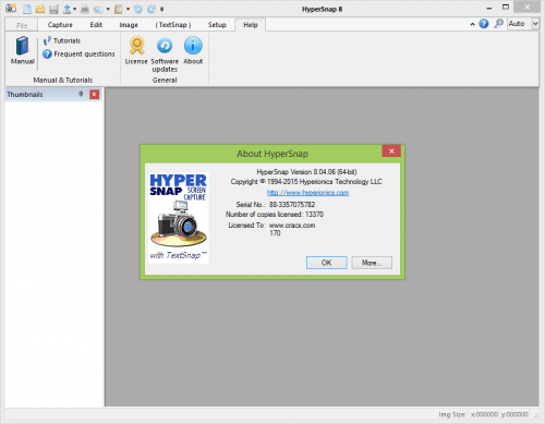 HyperSnap 8 Serial Key, + Keygen & Patch Full Free Download