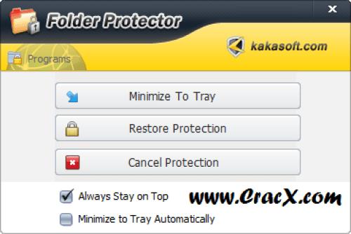 Kakasoft Folder Protector 6.30 Cracked Free Download
