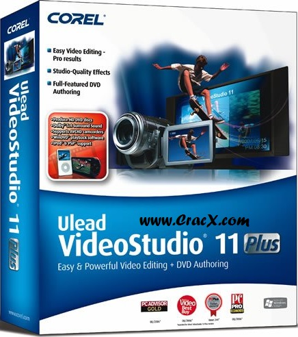 Ulead VideoStudio 11 Plus Activation Code + Crack Download