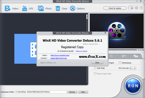 WinX HD Video Converter Deluxe 5.6 Patch Full Download