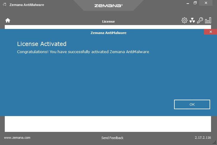 zemana anti malware product key