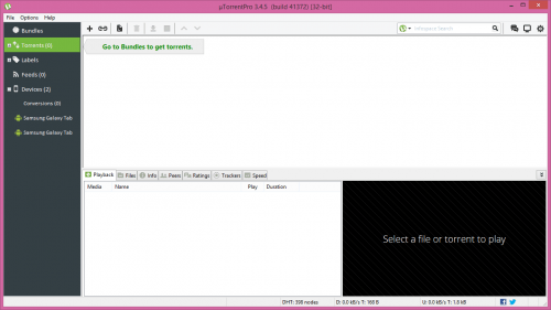 uTorrent Pro 3.4.5 Build 41372 Crack Stable Full Free Download
