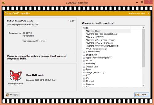 CloneDVD Mobile 1.9.2.0 Crack + Portable Full Download