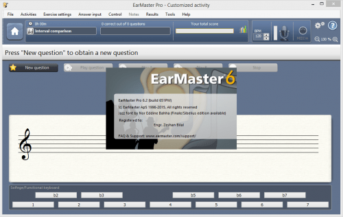 EarMaster Pro 6.2.0.651 Serial Number Patch Full Download