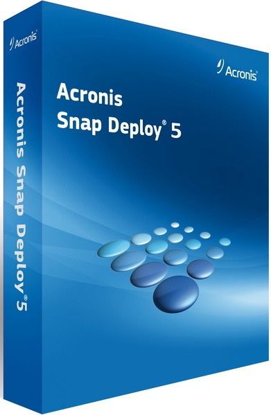 Acronis Snap Deploy 5.0 Crack + Serial Key Free Download