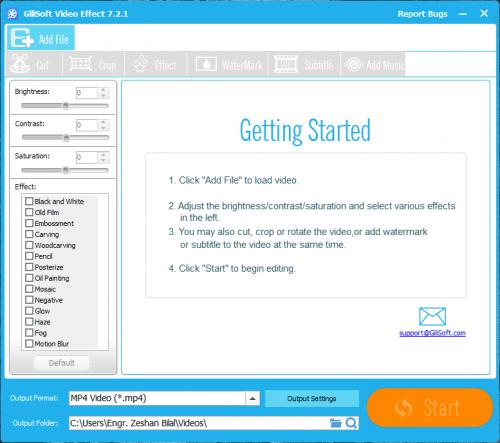 GiliSoft Video Editor 7.2.1 Keygen + License Key Free Download