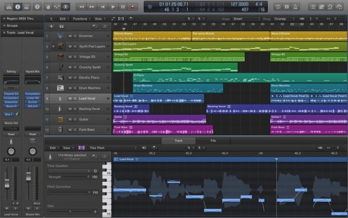 Logic Pro X 10.2.2 Mac OSX Crack & Patch Full Free Download