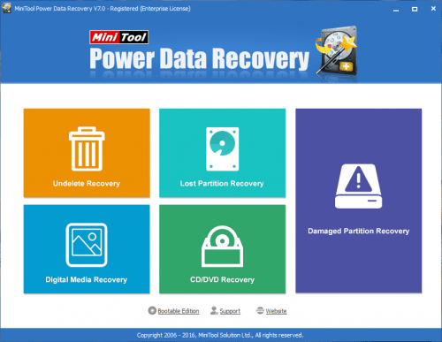 MiniTool Power Data Recovery 7 All Edition Crack Free Download