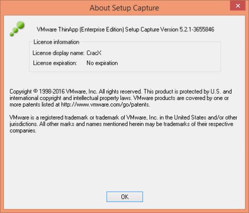 VMware ThinApp 5.2.1 License Key & Crack Free Download