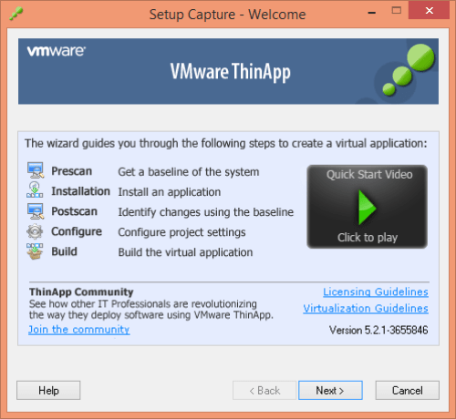 VMware ThinApp 5.2.1 Patch Key + Activator Download