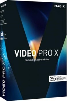 MAGIX Video Pro X8 Crack & Serial Key Free Download