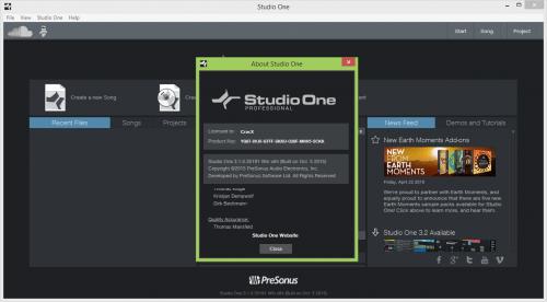 PreSonus Studio One 3 Pro Crack Keygen & Patch Download