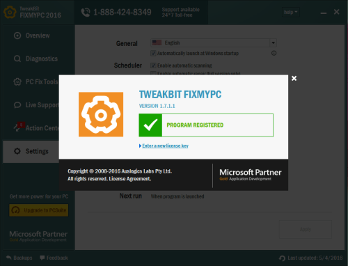 Tweakbit fixmypc 2016 crack license key free download - Inssider office free download ...