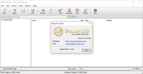 PowerISO 6.6 Full Patch Crack + Keygen Free Download