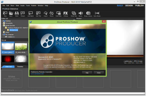 Photodex ProShow Producer 8 Crack & Keygen Free Download