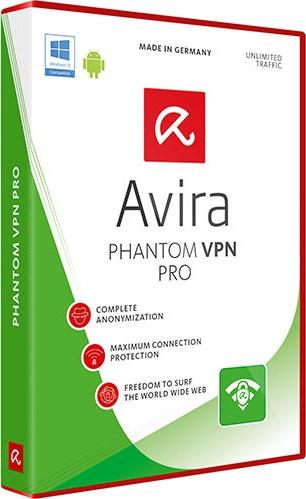 Avira Phantom VPN Pro 1.3.1 Crack & Serial Key Download