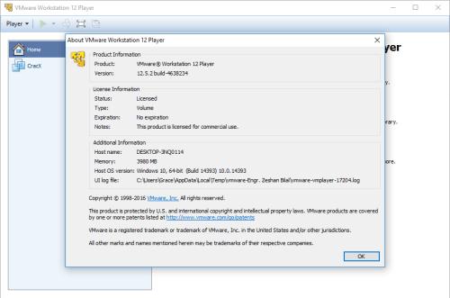 vmware workstation 12.5 download