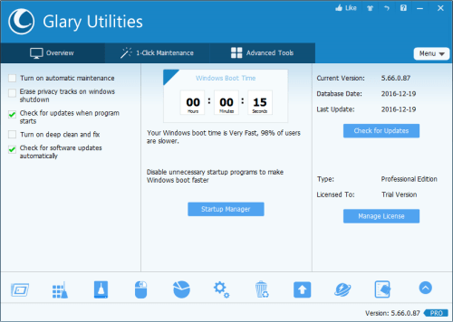 Glary Utilities Pro 5.66.0.87 Serial Key + Patch Download