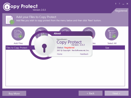 Newsoftwares Copy Protect 2.0.3 Patch + Crack Free Download