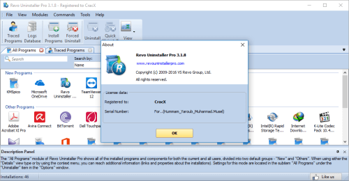 Revo Uninstaller Pro 4.1.0 Crack with Serial Key Download